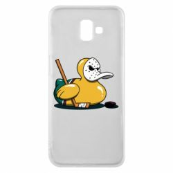 Чохол для Samsung J6 Plus 2018 Hockey duck