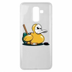 Чохол для Samsung J8 2018 Hockey duck