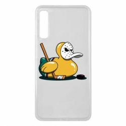 Чохол для Samsung A7 2018 Hockey duck