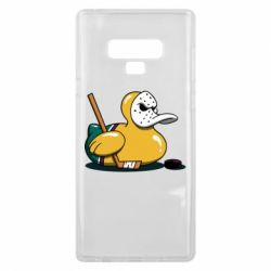 Чохол для Samsung Note 9 Hockey duck