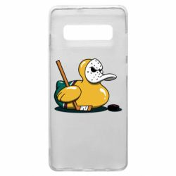 Чохол для Samsung S10+ Hockey duck