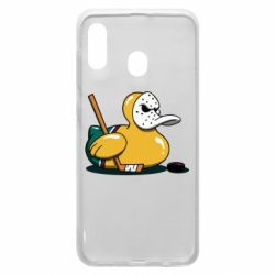 Чохол для Samsung A20 Hockey duck