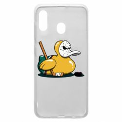 Чохол для Samsung A30 Hockey duck