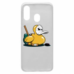Чохол для Samsung A40 Hockey duck