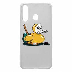 Чохол для Samsung A60 Hockey duck