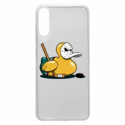 Чохол для Samsung A70 Hockey duck