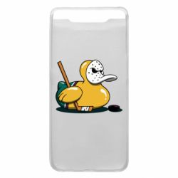 Чохол для Samsung A80 Hockey duck
