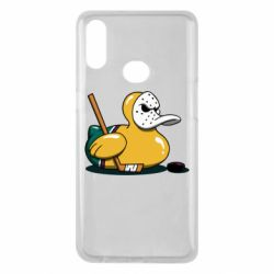 Чохол для Samsung A10s Hockey duck