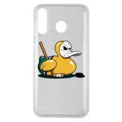 Чохол для Samsung M30 Hockey duck