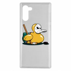 Чохол для Samsung Note 10 Hockey duck