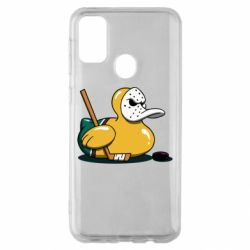 Чохол для Samsung M30s Hockey duck