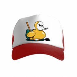 Дитяча кепка-тракер Hockey duck