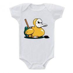 Дитячий бодік Hockey duck