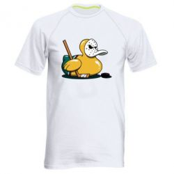 Чоловіча спортивна футболка Hockey duck