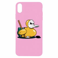 Чохол для iPhone X/Xs Hockey duck