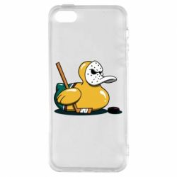 Чохол для iphone 5/5S/SE Hockey duck