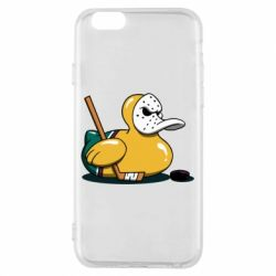 Чохол для iPhone 6/6S Hockey duck