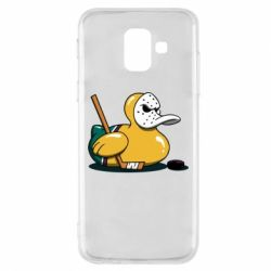 Чохол для Samsung A6 2018 Hockey duck