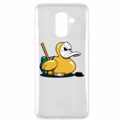 Чохол для Samsung A6+ 2018 Hockey duck