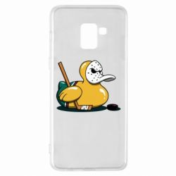 Чохол для Samsung A8+ 2018 Hockey duck