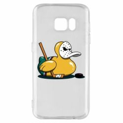 Чохол для Samsung S7 Hockey duck