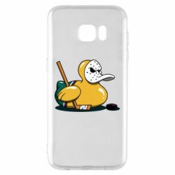 Чохол для Samsung S7 EDGE Hockey duck
