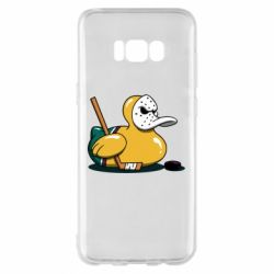 Чохол для Samsung S8+ Hockey duck