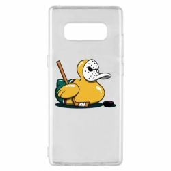 Чохол для Samsung Note 8 Hockey duck