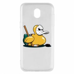 Чохол для Samsung J5 2017 Hockey duck
