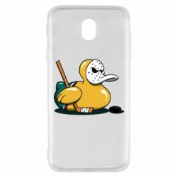Чохол для Samsung J7 2017 Hockey duck