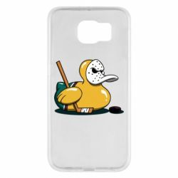 Чохол для Samsung S6 Hockey duck