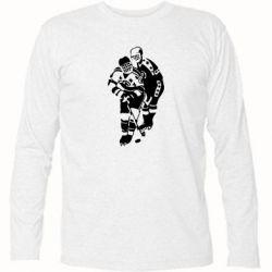 Футболка с длинным рукавом Хоккеисты - FatLine