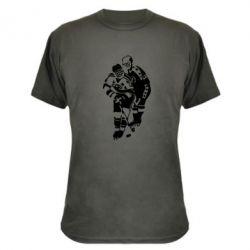 Камуфляжная футболка Хоккеисты - FatLine