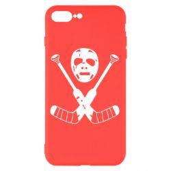 Чохол для iPhone 8 Plus Хокейна маска