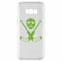 Чохол для Samsung S8+ Хокейна маска