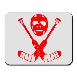 Коврик для мыши Хоккейная маска - FatLine