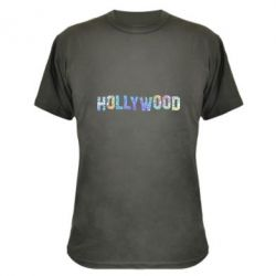 Камуфляжна футболка HOLLYWOOD