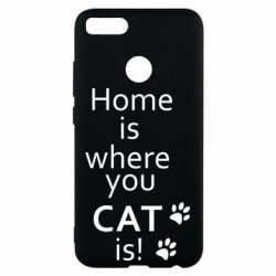 Чехол для Xiaomi Mi A1 Home is where your Cat is!