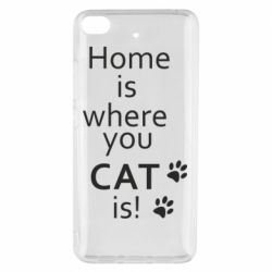 Чехол для Xiaomi Mi 5s Home is where your Cat is!