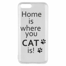 Чехол для Xiaomi Mi6 Home is where your Cat is!