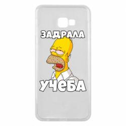 Чохол для Samsung J4 Plus 2018 Homer is tired of studying