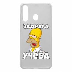 Чохол для Samsung A60 Homer is tired of studying