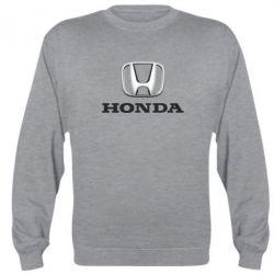 Реглан (свитшот) Honda 3D Logo - FatLine