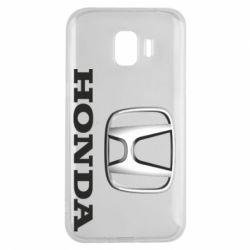 Чехол для Samsung J2 2018 Honda 3D Logo