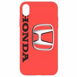 Чехол для iPhone XR Honda 3D Logo