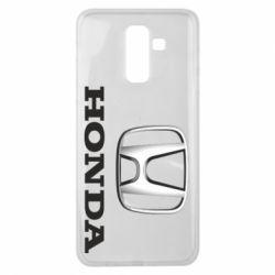 Чехол для Samsung J8 2018 Honda 3D Logo