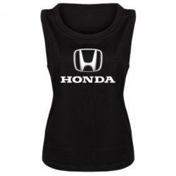Женская майка Honda 3D Logo - FatLine