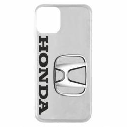 Чехол для iPhone 11 Honda 3D Logo