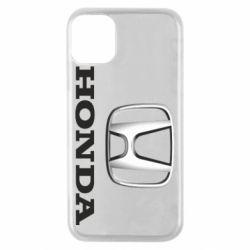 Чехол для iPhone 11 Pro Honda 3D Logo