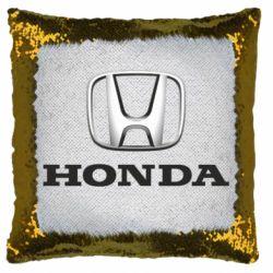 Подушка-хамелеон Honda 3D Logo